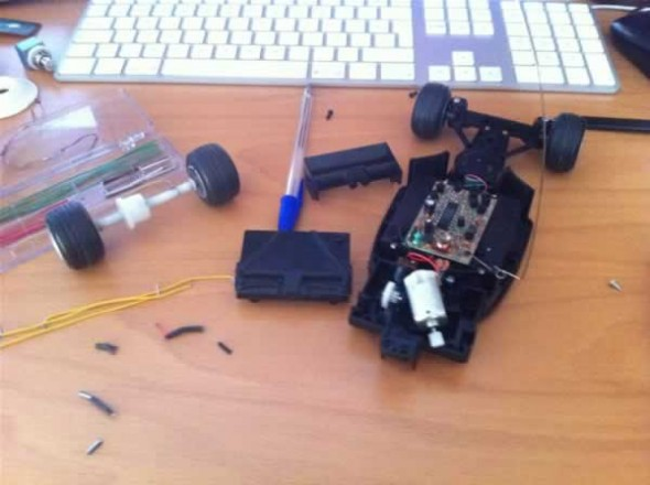 Tutorials With Arduino F1 Rc Car Dc Motor Driven By Mos