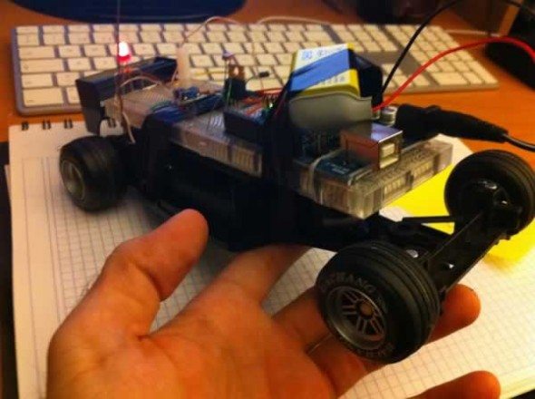 Tutorials With Arduino F1 Rc Car Dc Motor Driven By Mos Transistor