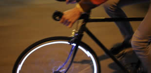 News: Project Aura - Safe night bicycle riding.