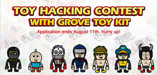 News: We are participating in the Groove Toy Kit Contest from @SeedStudio!