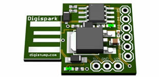News: #Digispark - The tiny, #Arduino enabled, #usb dev board!