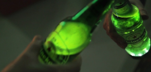 News: First interactive beer bottle