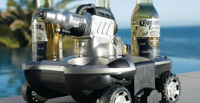 News: Amphibious Vehicle that brings your beer!