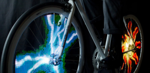News: Monkeylight - Display An Animation On Your Bike Wheel As You Cycle