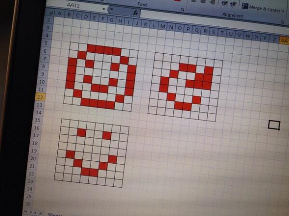 20140325_using excel to design 8x8 matrix patterns