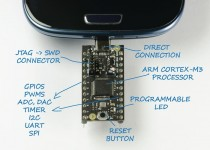 On Kickstarter: USB2Go, an ARM Development board that connects directly to your android!