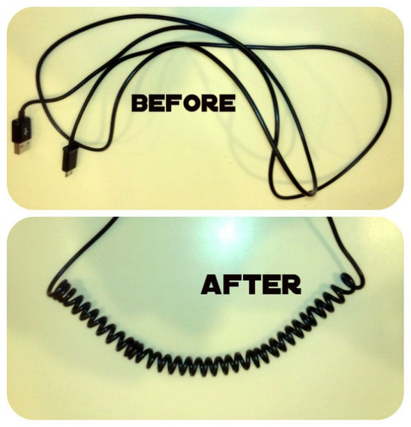 On Instructable Making A Coiled Usb Cable Arduino Arts