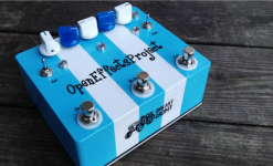 On Indiegogo: Open Effects Project - Effect pedal