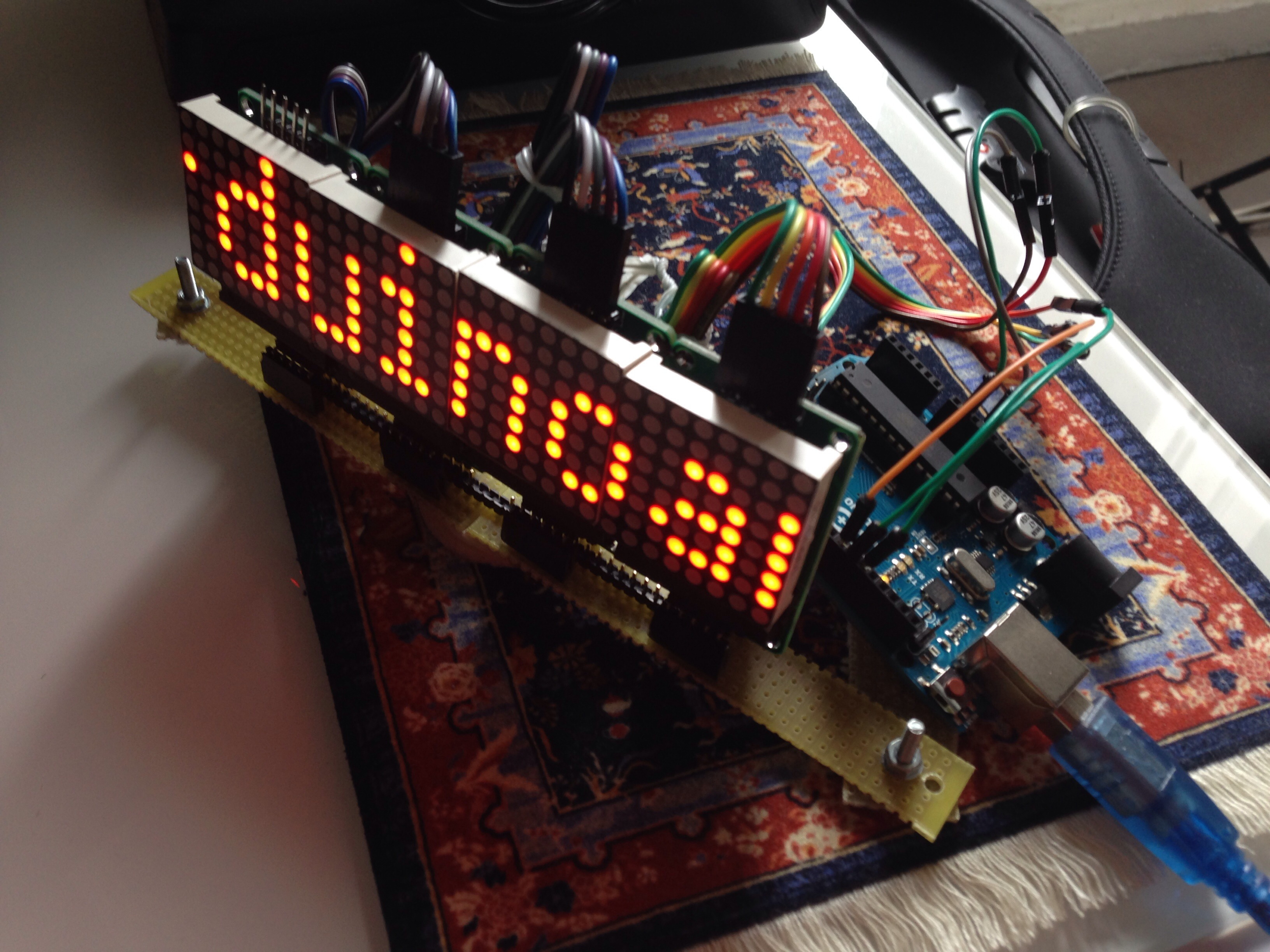 Tutorial Using 88 Matrix Banner Temp Sensor With Arduino Relay Switch 2014 03 26 151121